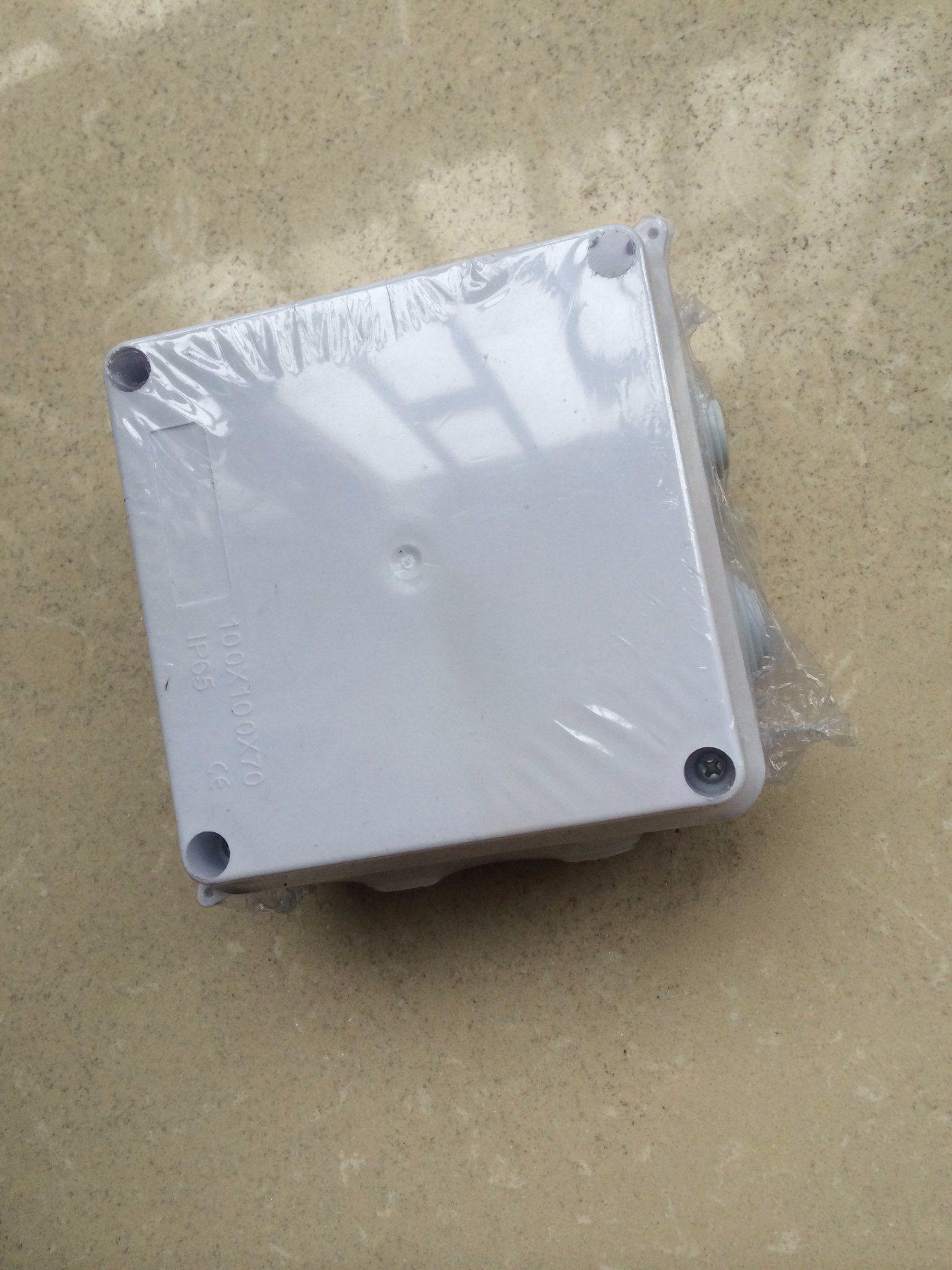 China Waterproof Junction Box Connection Box IP65100*100*70mm Photos ...