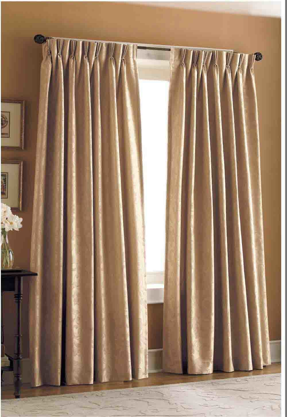Making lined pinch pleat curtains curtain menzilperde net for Double width curtain lining
