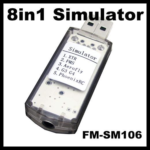 China FS-SM106 8in1 USB Flight Simulator Cable (Phoenix 4 0