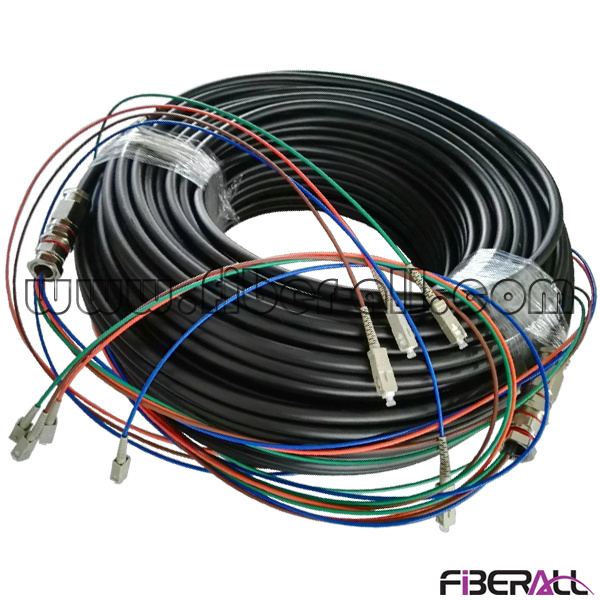 China Fan-out Type Outdoor Waterproof Optical Multi-Fiber Patch ...