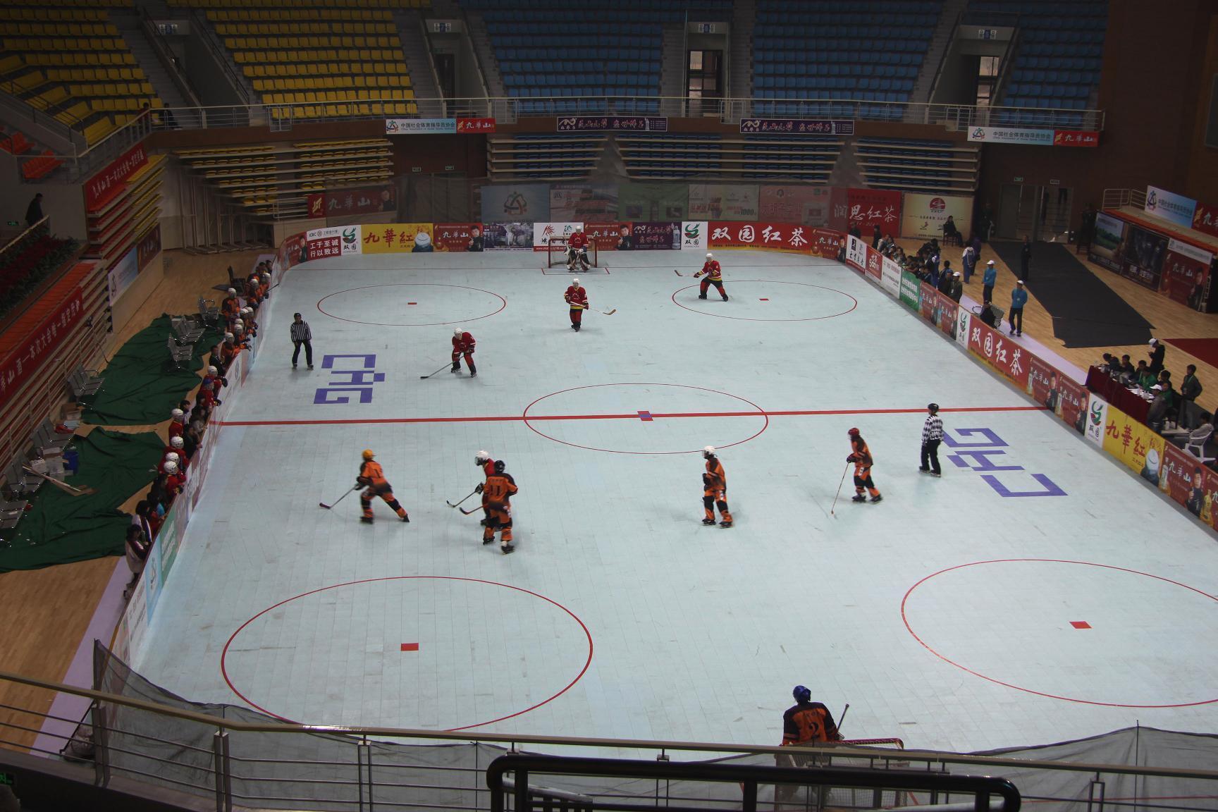 China No Holes Sports Court Floor Futsal Hockey Court Floor Tile
