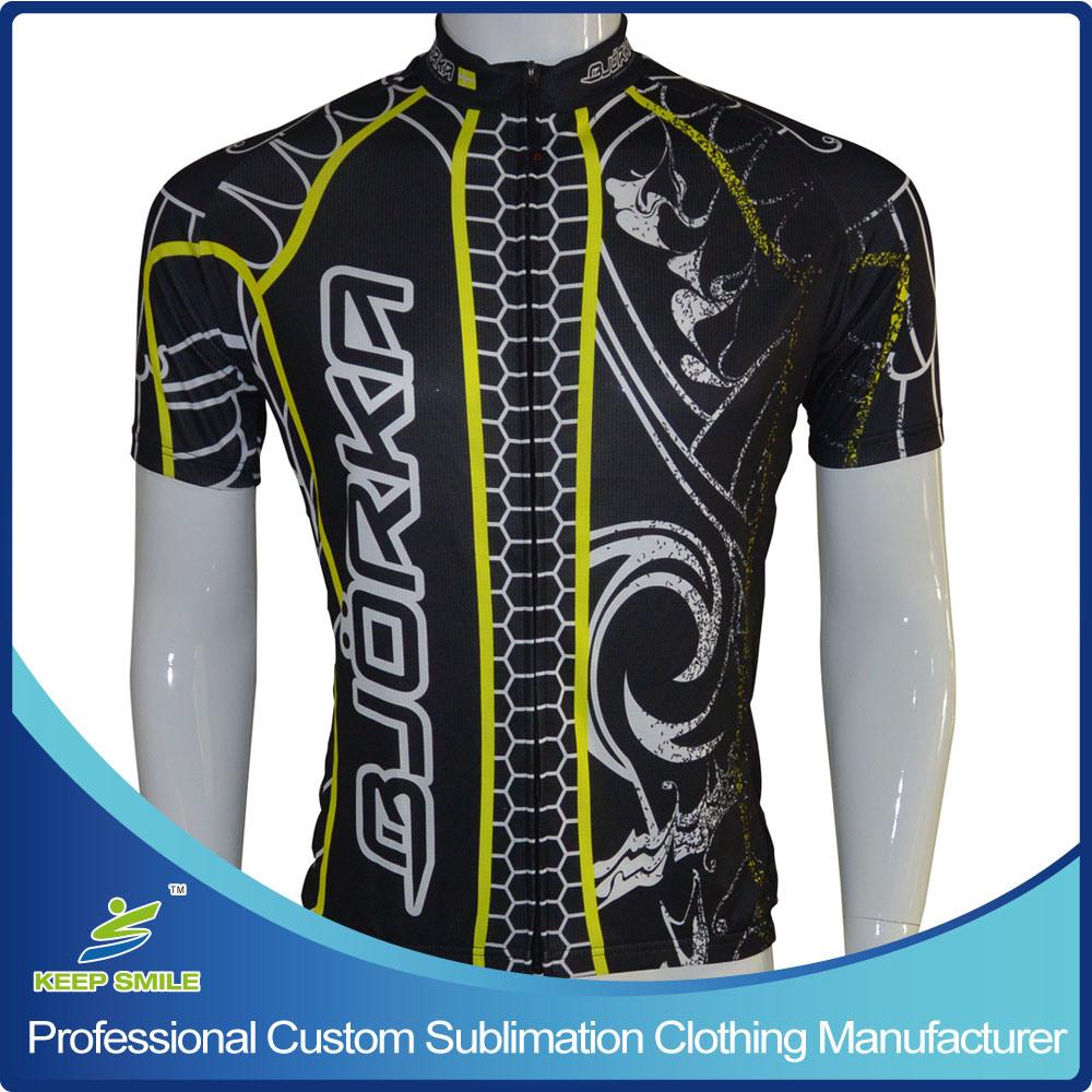 0c4fbf338 China Custom Made Digital Sublimation Printing Neon Color Cycling Jersey -  China Cycling Jersey