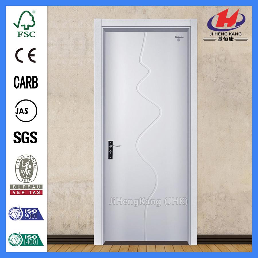 China Sliding Shower Plastic Sheet Laminated Pvc Door Manufacturers