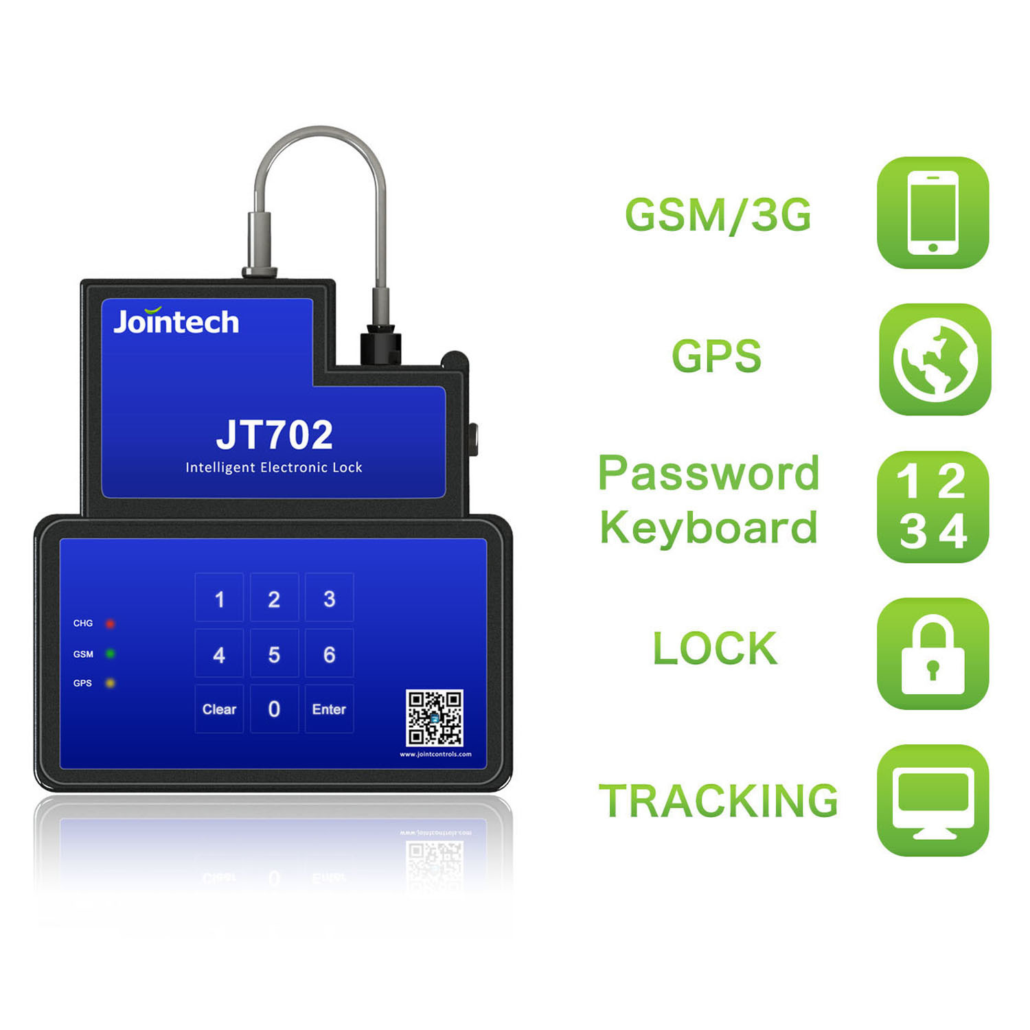 China Electronic Padlock With Gps Tracking For Container Cargo Intelligent Lock And Door
