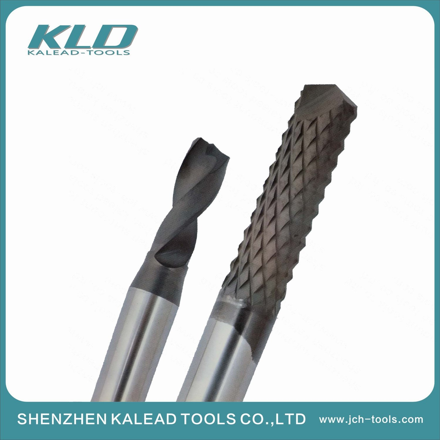 Customization Diamond Coated Tungsten Carbide End Mill Used for CNC Machine Cutting Tools pictures & photos