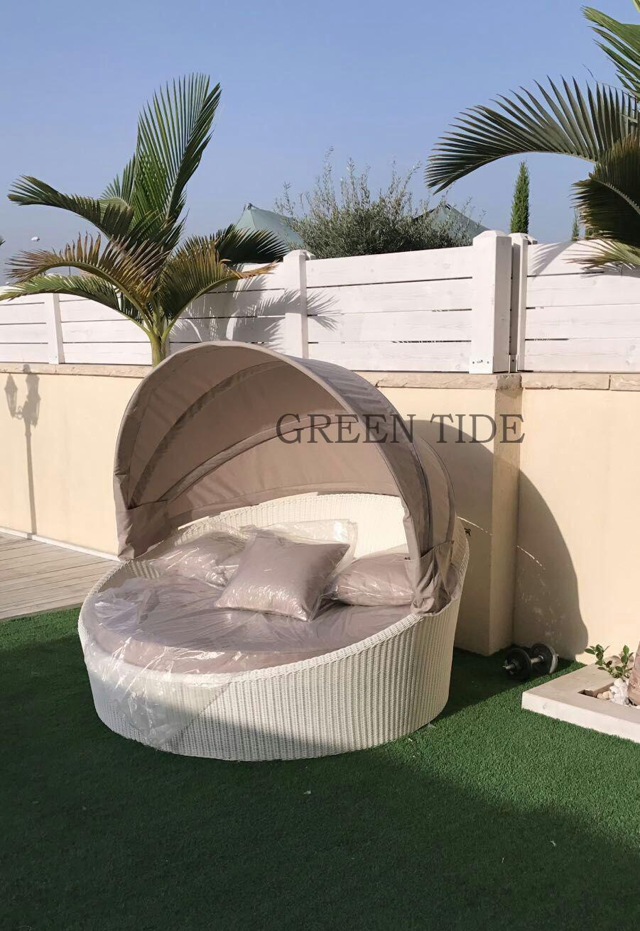 China outdoor garden furniture rattan wicker leisure daybed sunbed sun lounge china daybed sunbed