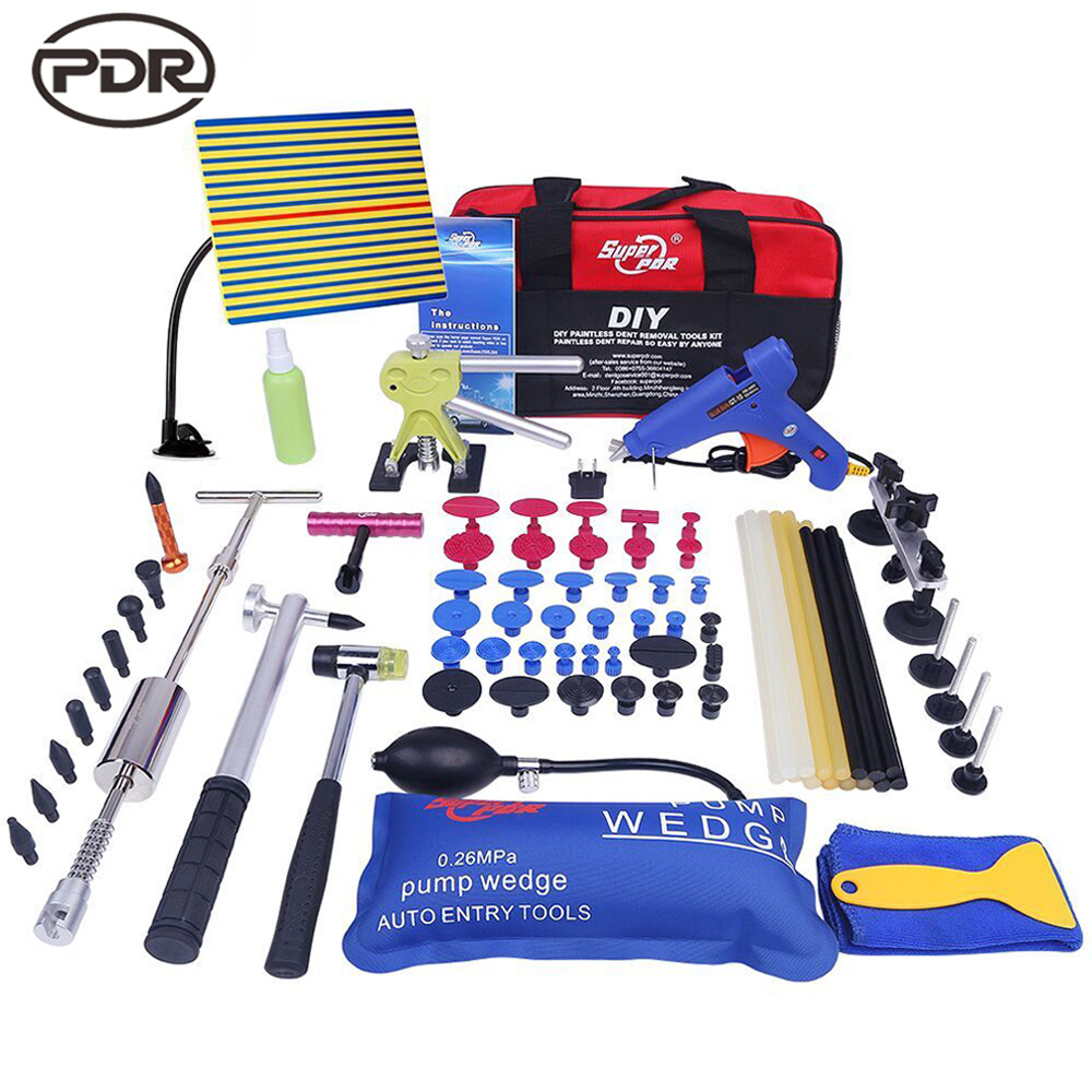Auto Body Dent Repair Tool Dent Puller kit for Car Body Hail Dent Removal Dent