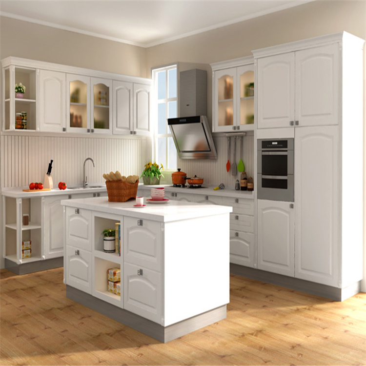 Pvc Kitchen Cabinet With Tall Pantry