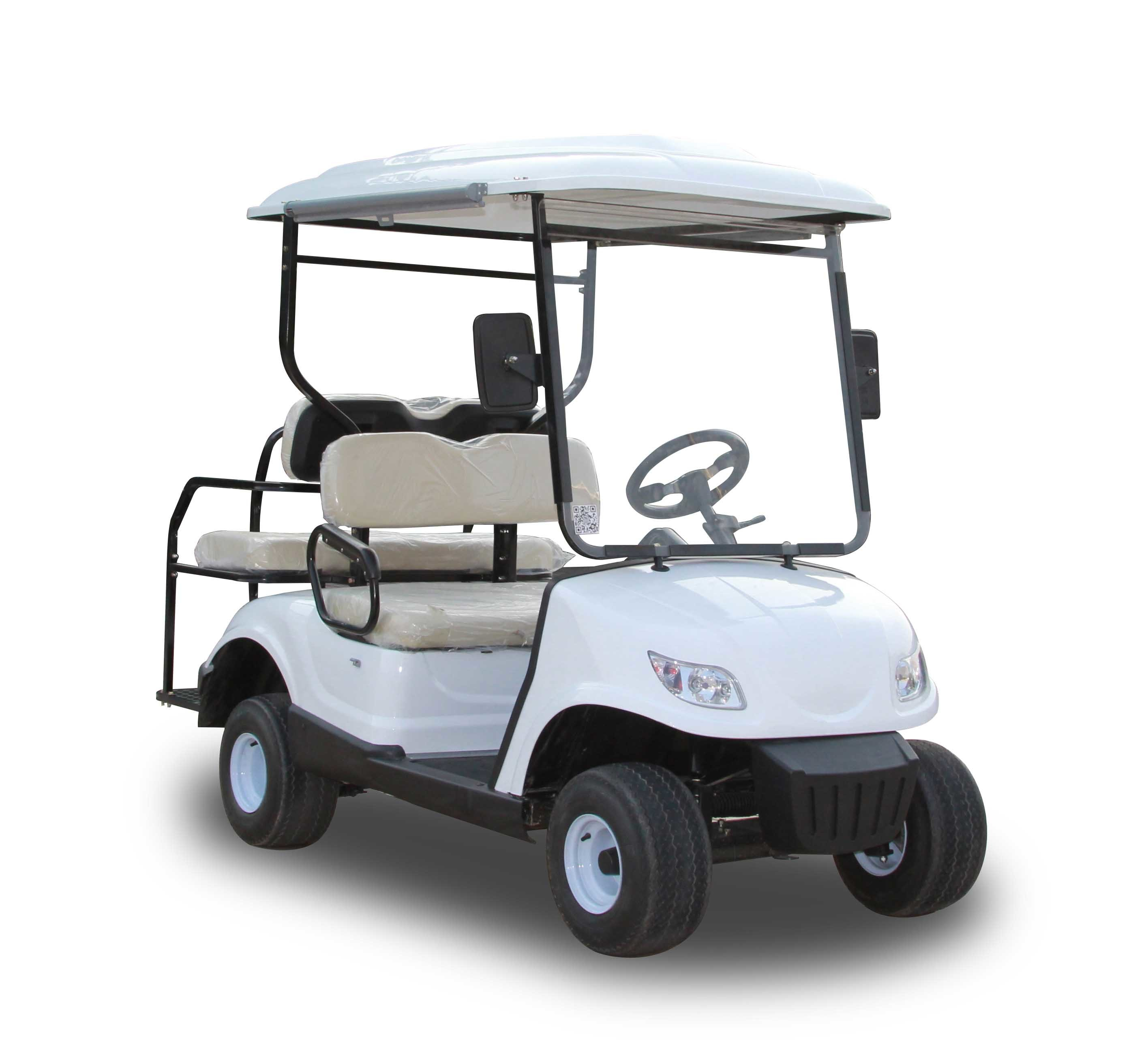 Electric Golf Caddy >> Hot Item Best Price 4 Seats Electric Golf Carts Battery Powered Electric Caddy Carts