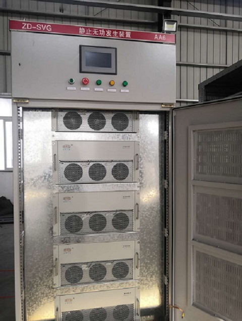 China Static Var Generator Svg Reactive Power Compensation Device China Reactive Power Compensation Auto Power Factor Improver