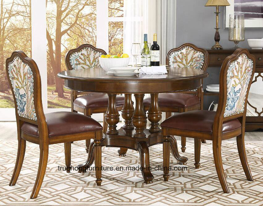 China American Style Wooden Table And Wooden Chair Nature Wooden Furniture Home Wooden Dinner Table Wooden Chairs China Wooden Dining Table Restuarant Furniture