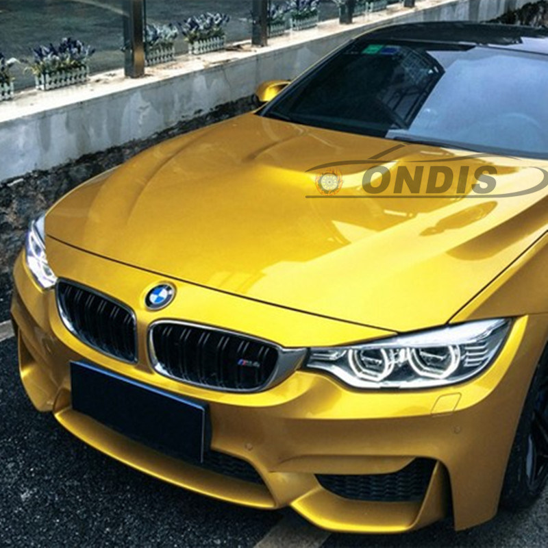China Car Sticker For Changing Cars Body Color Vinyl Car Wrap Gold