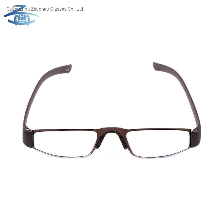 b4e76cb07b54 China Wholesale Products Vogue Custom Eyeglasses Reading Glasses Frame  Metal Optical Frame with Tr90 Temple - China Reading Glasses