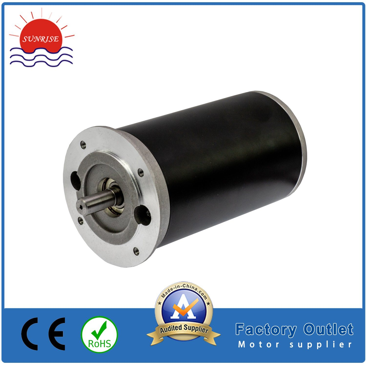 [Hot Item] 12VDC 0 24n  M 75W 3000rpm Electric DC Motor