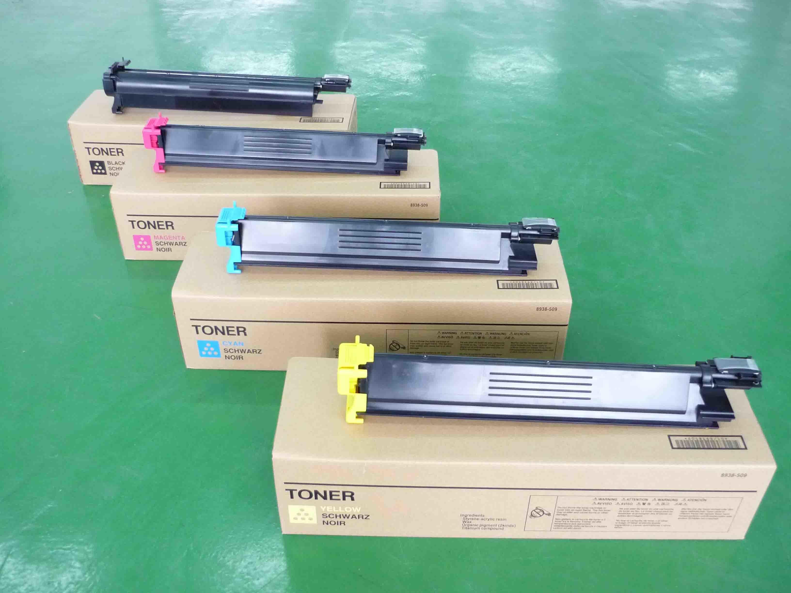 100g//Bottle,6 Black,6 Cyan,6 Magenta,6 Yellow No-name Refill Copier Color Toner Powder Kits for Konica Minolta Bizhub TN-216 TN216 TN 216 C220 C280 C 220 280 Laser Printer Toner Power
