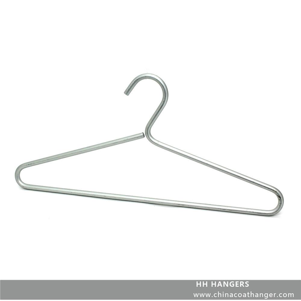China 8mm Diameter Aluminium Fashion Metal Wire Coat Hangers for ...