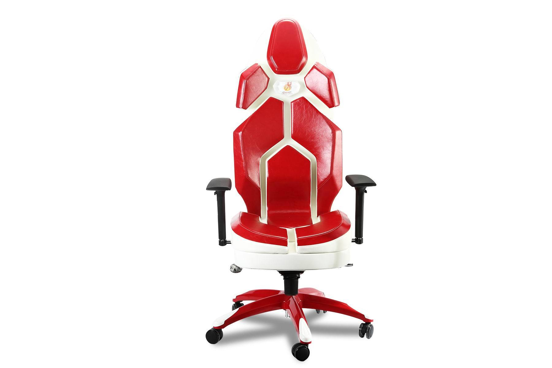 Metal Paint Red Office Ergonomic Chair