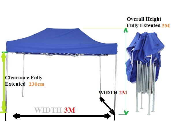 China 2x3 Galvanized Steel Frame Carport Canopy Camping