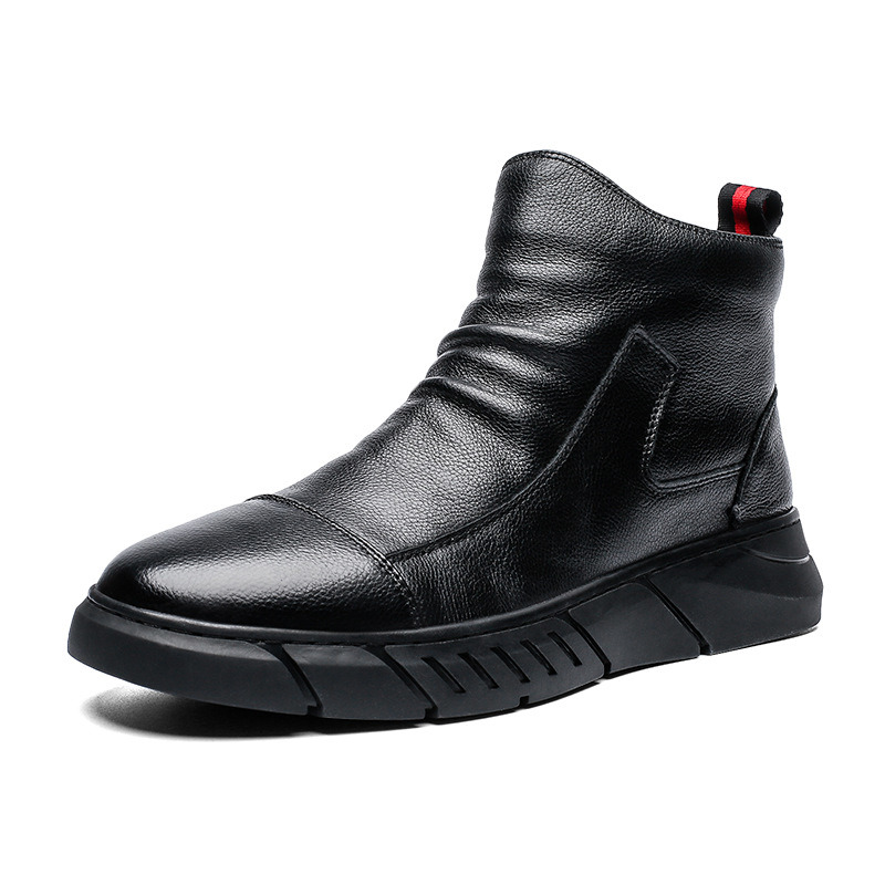 Men S Leather Shoes Autumn And Winter