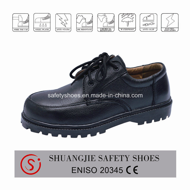 Safety Shoes with Steel Toe Cap