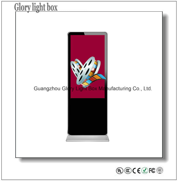 42′′ High Quality LED Backlit LCD Advertising Display Standing