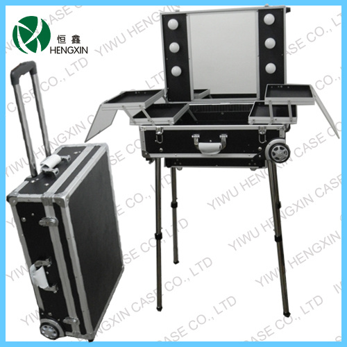China Lighted Professional Makeup Cases