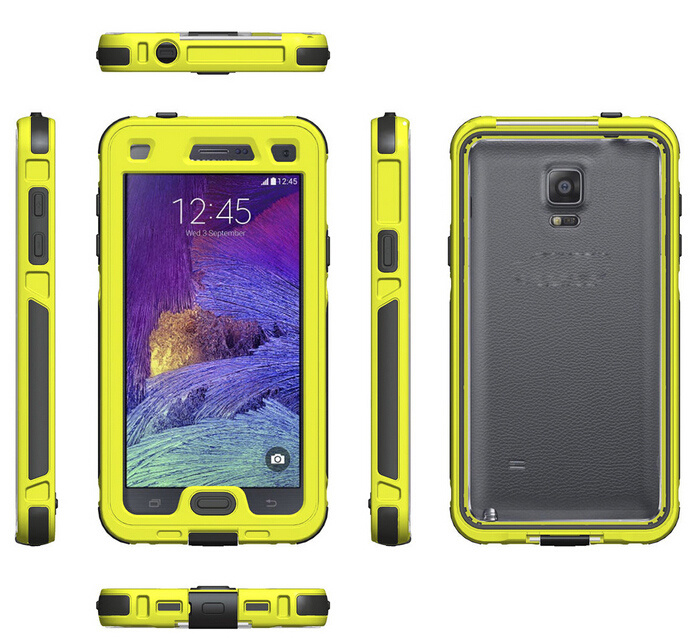 pretty nice efbac 544e6 [Hot Item] IP-68 Waterproof Shockproof Phone Cover Case for Samsung Galaxy  Note 4
