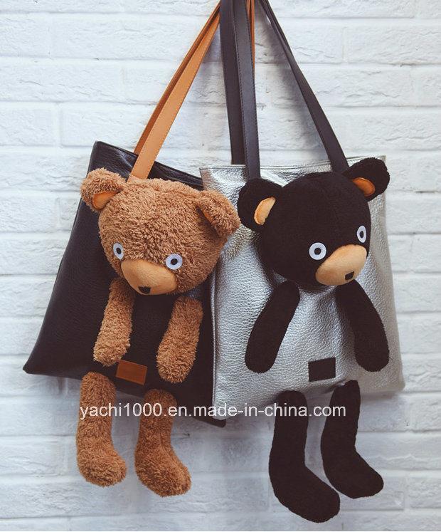 China Plush Teddy Bear Fashion Lady Bag