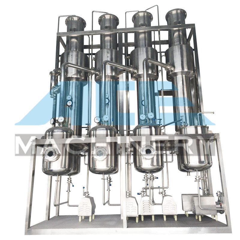 Complete Set Concentrated Fruit Juice Falling Film Evaporator (ACE-ZFQ-3J)