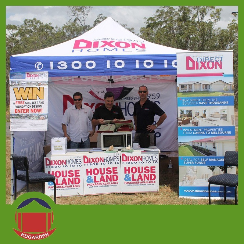 3X3m Promotional Pop up Gazebo with Fabric Printing