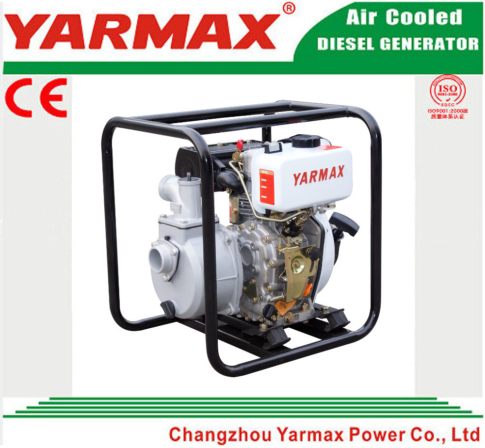 Yarmax 3inch 186f Engine Portable Diesel Water Pump Ymdp30I pictures & photos