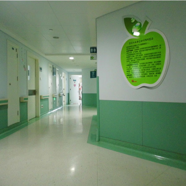 Fireproof Non-PVC Wall Covering Sheet for Hospital