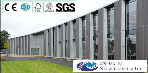Wood Plastic Composite Wall Cladding with Ce, Fsc, SGS, Intertek Certificate
