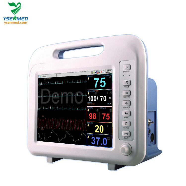 Ysf6 Hospital Best Selling Medical Portable LED Screen Patient Monitor pictures & photos