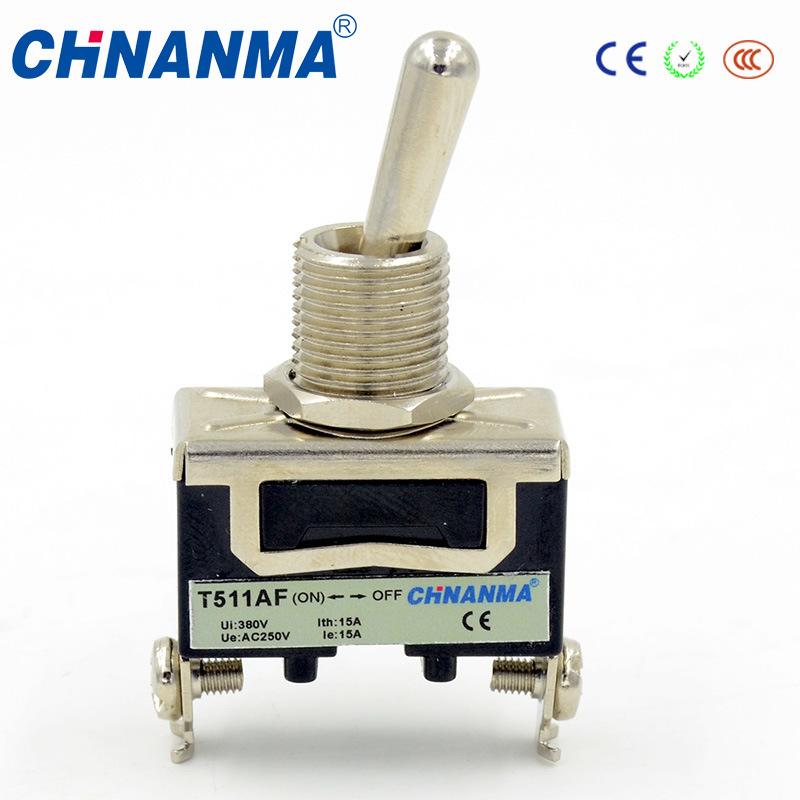 China Spdt (ON) -off Type Micro Toggle Switch for Industrial Use ...