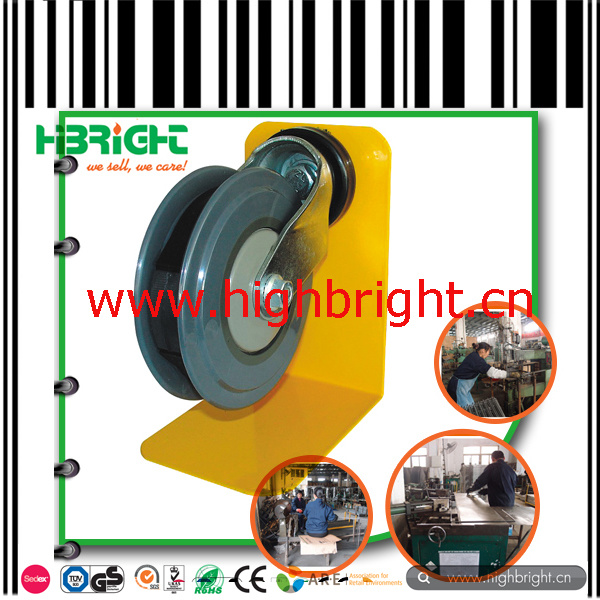 Durable PU Castor for Supermarket Shopping Cart pictures & photos