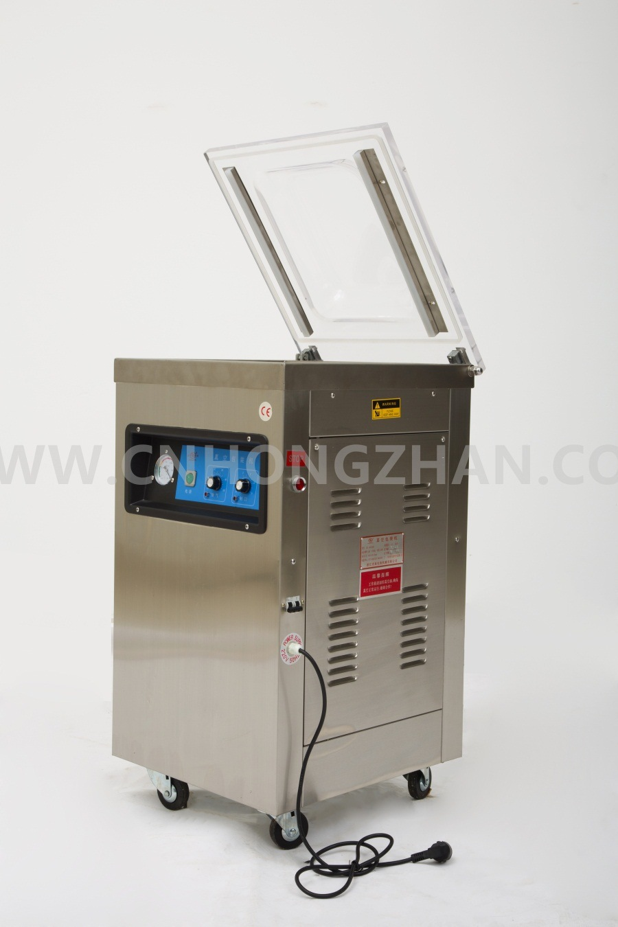 Hongzhan Dz4002D Stand Operate Vacuum Packing Machine pictures & photos