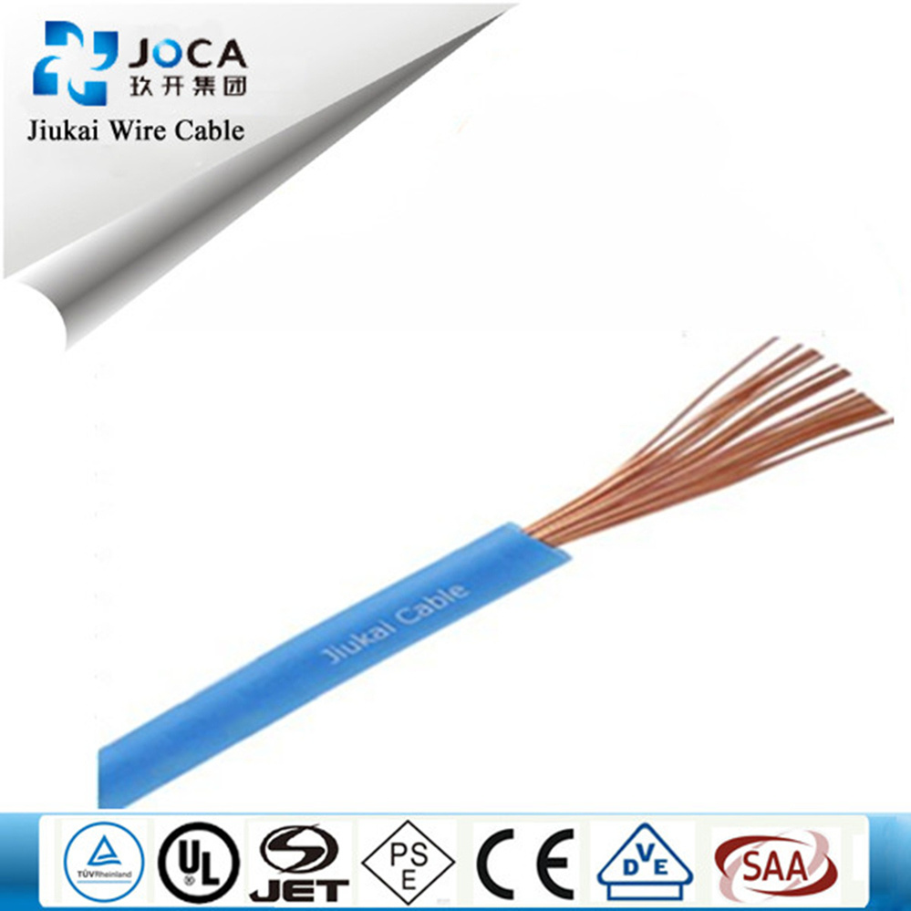 China PVC Insulation H07V-K Flexible Copper Conductor Electric Wire ...