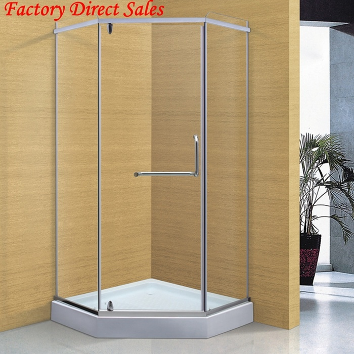 China Diamond Shape Tempering Glass Shower Enclosure (022G) Photos ...