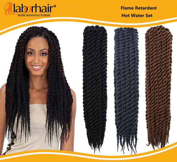 Havana Mambo Twist Crochet Hair Braid 100% Kanekalon Jumbo Braid Synthetic Hair Extension Lbh012 pictures & photos