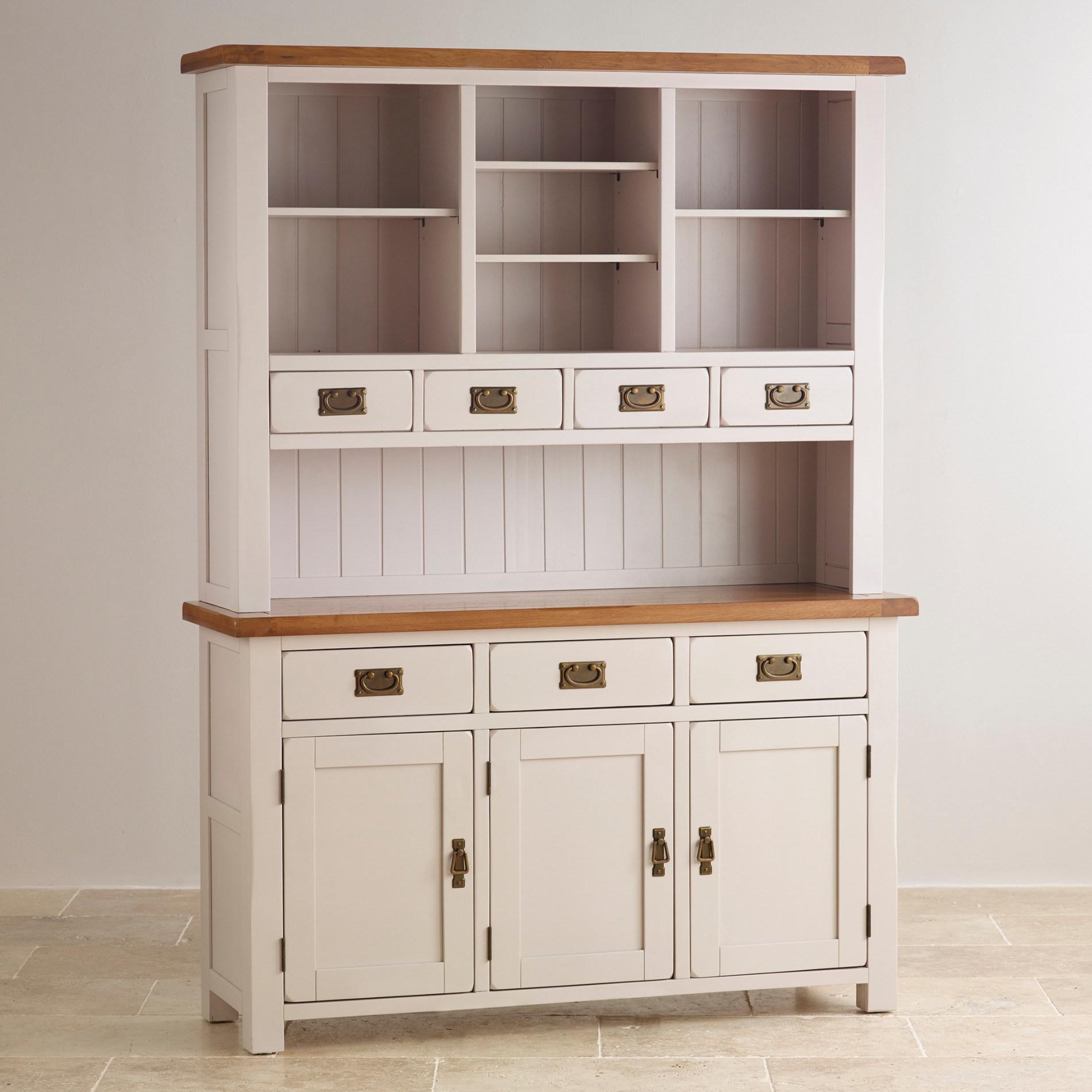 White Oak Solid Wood Large Dresser