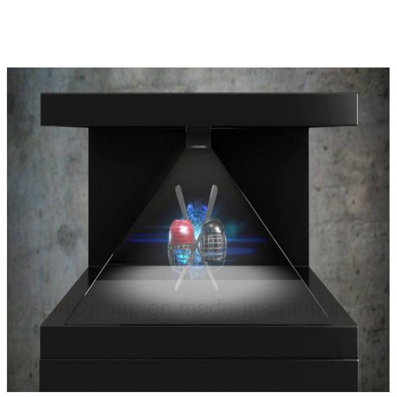 [Hot Item] Yashi Holographic Projection Technology 180 270 360 Degree  Pyramid 3D Display for Museum Display