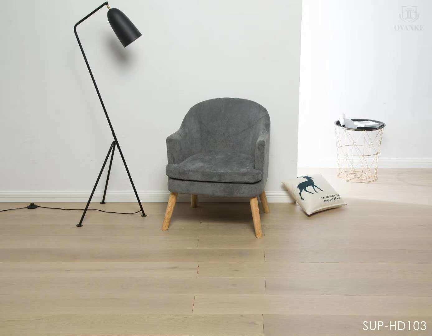 China Light Grey European Oak Engineered New Three Layer Woodfloor Wide Plank Parquet China Engineered Wood Floor Wood Floor