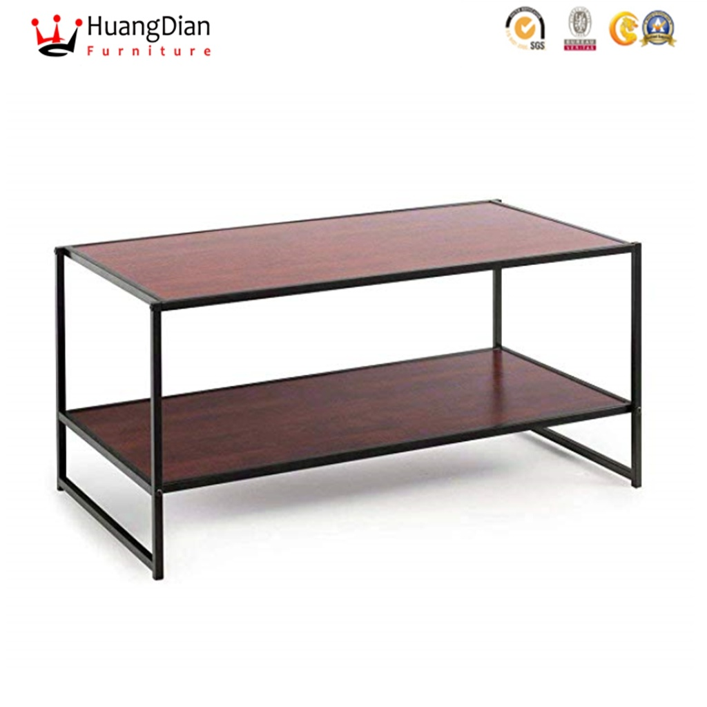 - Chinese Wholesale Furniture Factory Custom Metal Frame Plywood Top