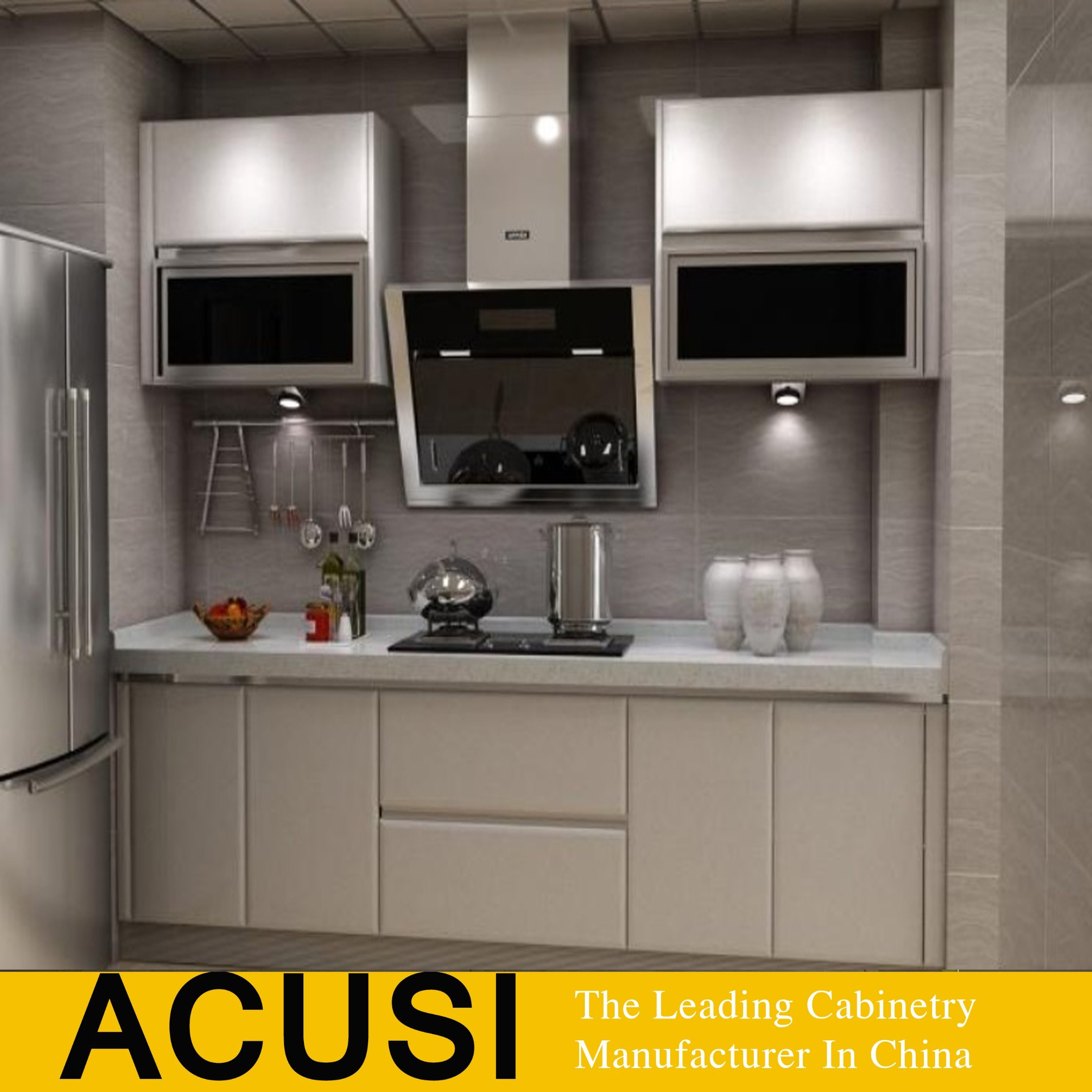 China Factory Wholesale New Design Modern Lacquer Kitchen