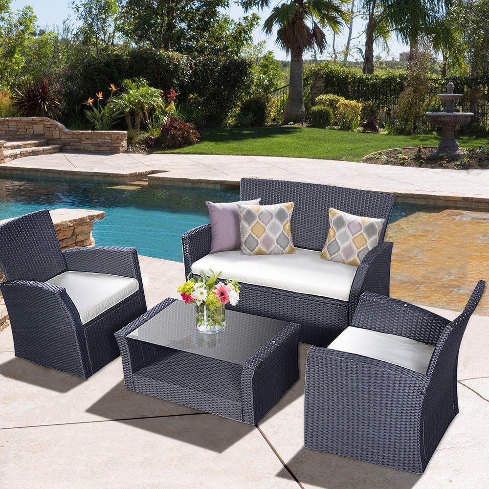 China Cheap Discount Outdoor Patio Furniture Garden Sofa Set