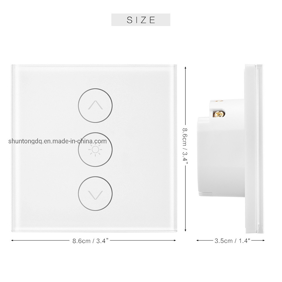 WiFi Smart Light Switch Wall Remote Touch Control Light Switch Work For Alexa