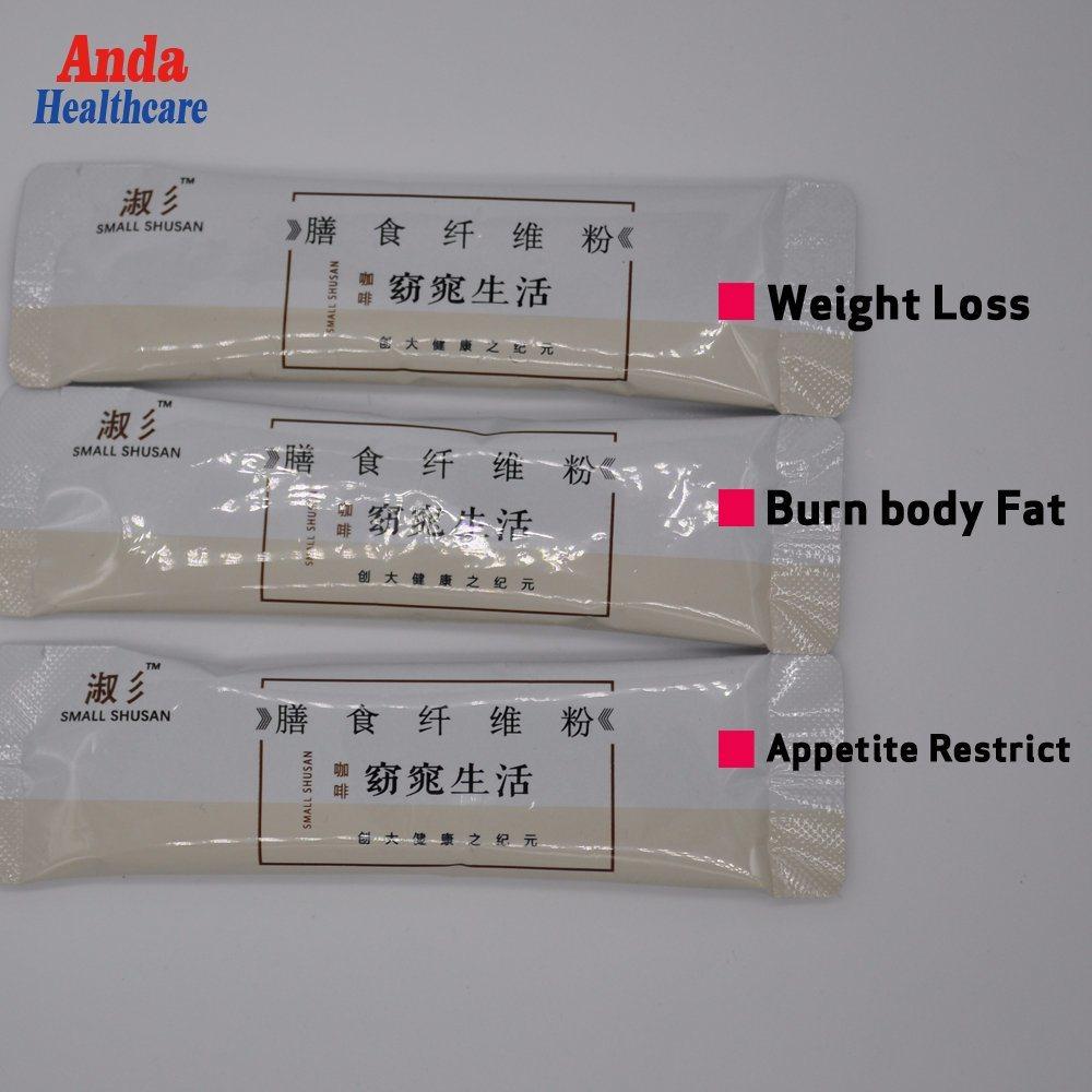 Hot Item 100 Natural Slimming Dietary Fiber Instant Beverage Weight Loss Dietary Fiber Drinking Powder