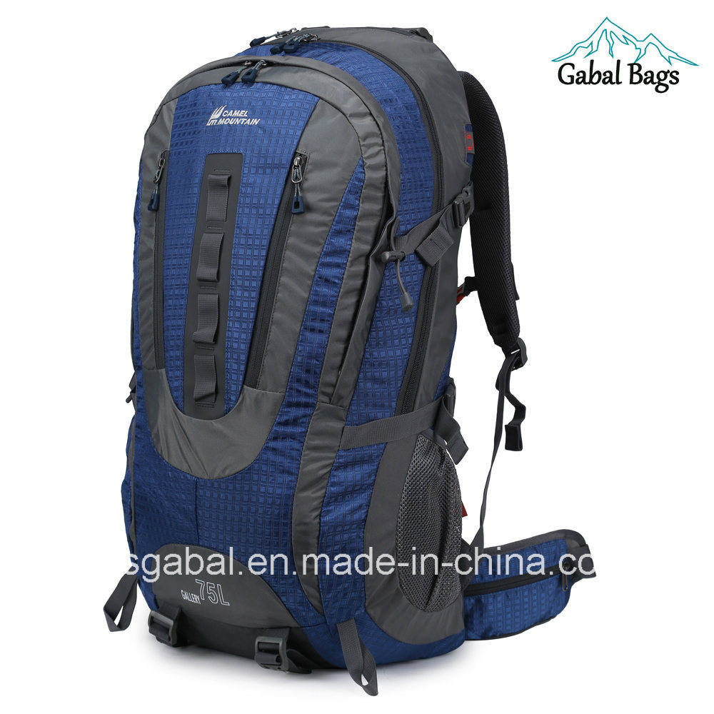 7de6e06f30d China 80L Camel Mountain Camping Hiking Gear Sports Travel Bag Backpack -  China Backpack, Outdoor Backpack
