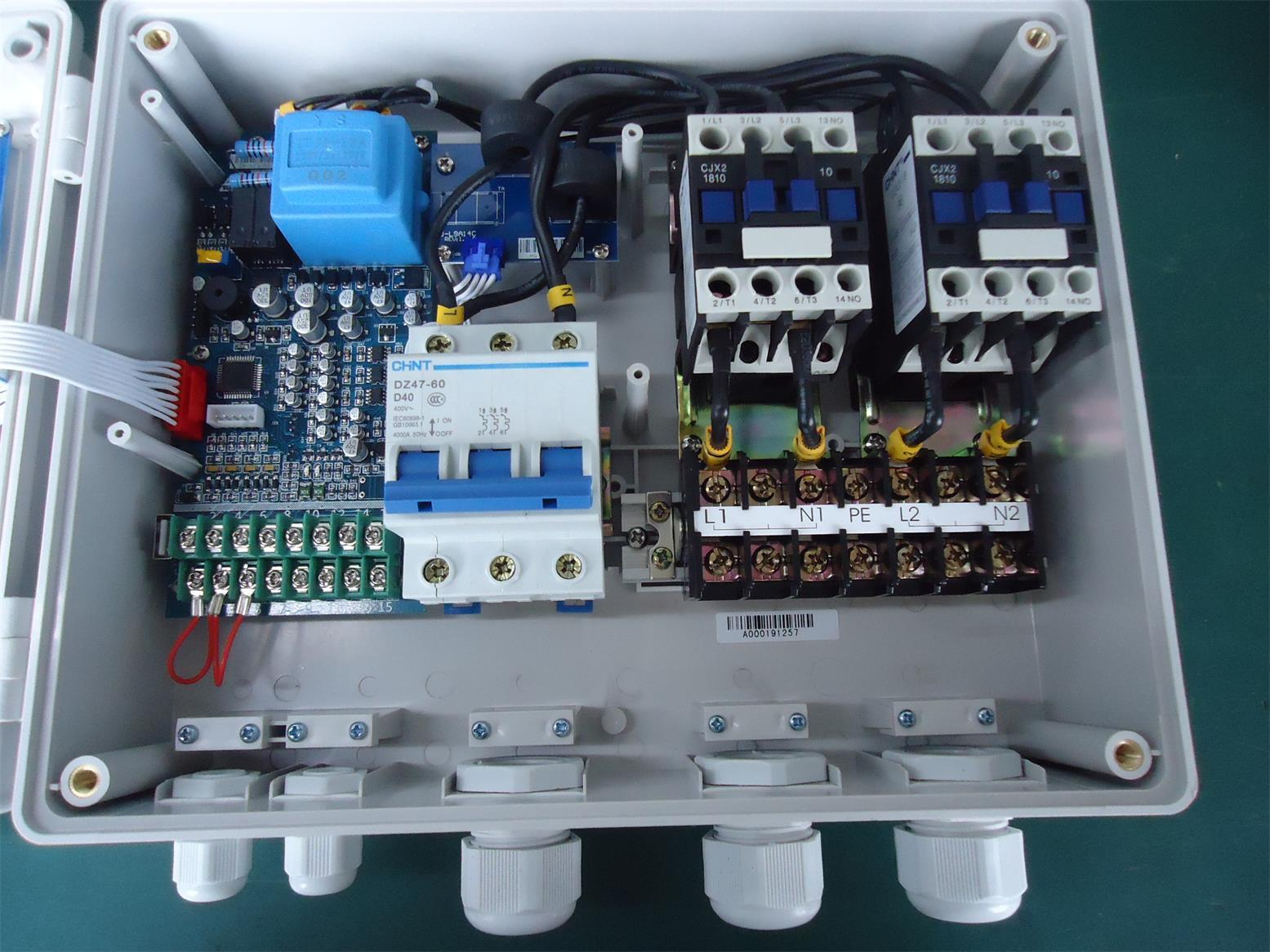 China Duplex Water Pump Control Box with IP 54, Single Phase - China ...